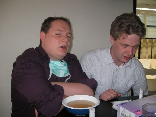 Kiekn in de Kliniekborrel