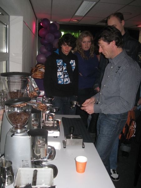 Lustrum-ijs en Koffie workshop