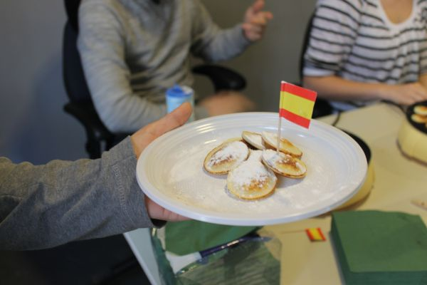 Dies poffertjes, borrel en gourmet