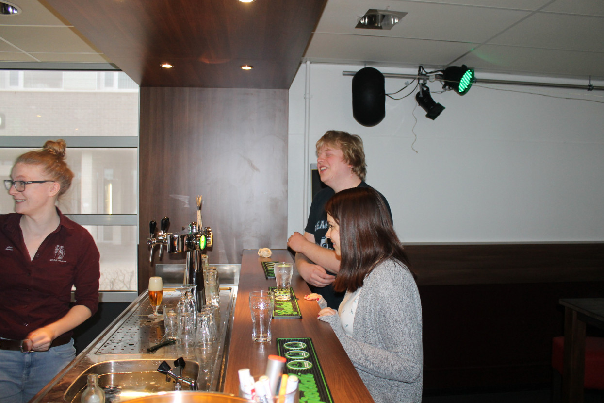 Green drink + Bartender course