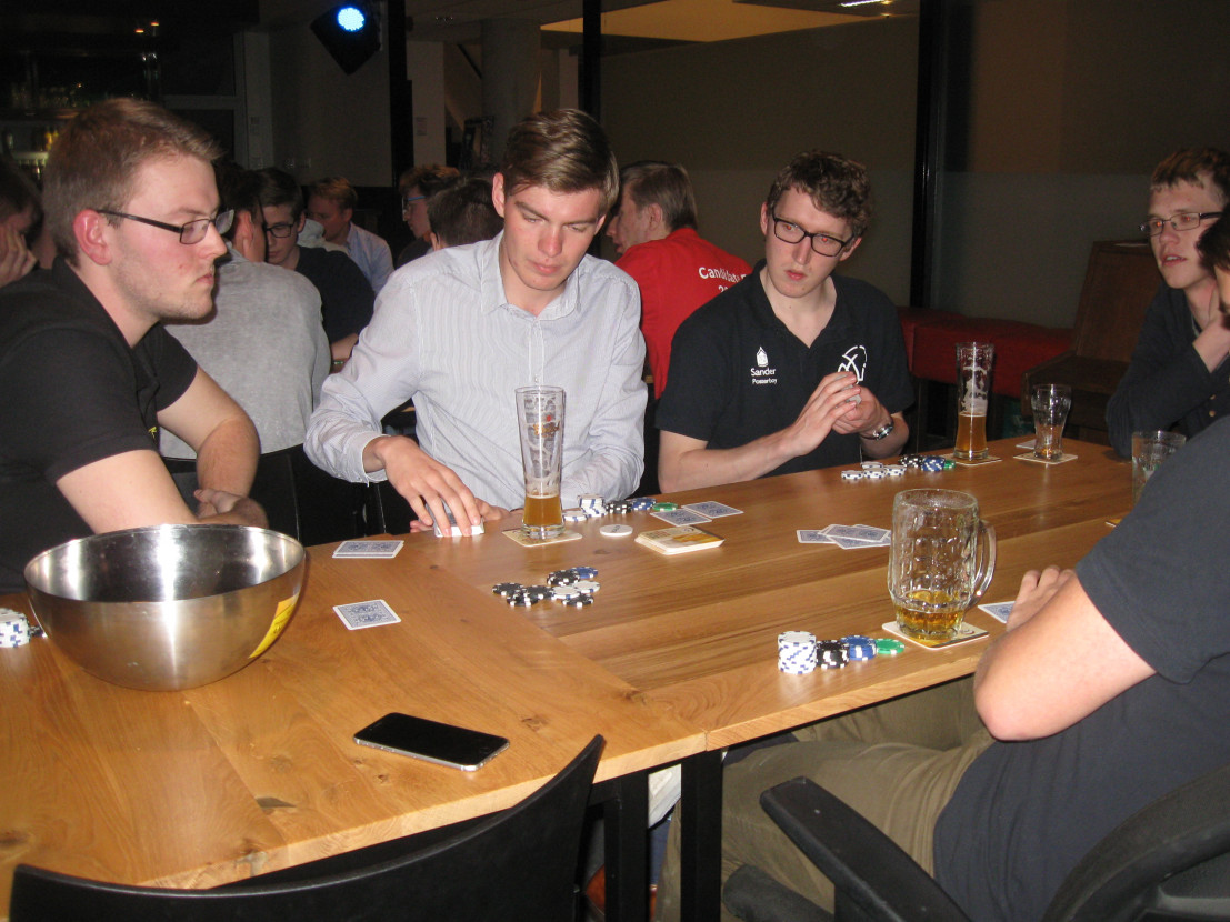 Poker tournament with Inter-Actief