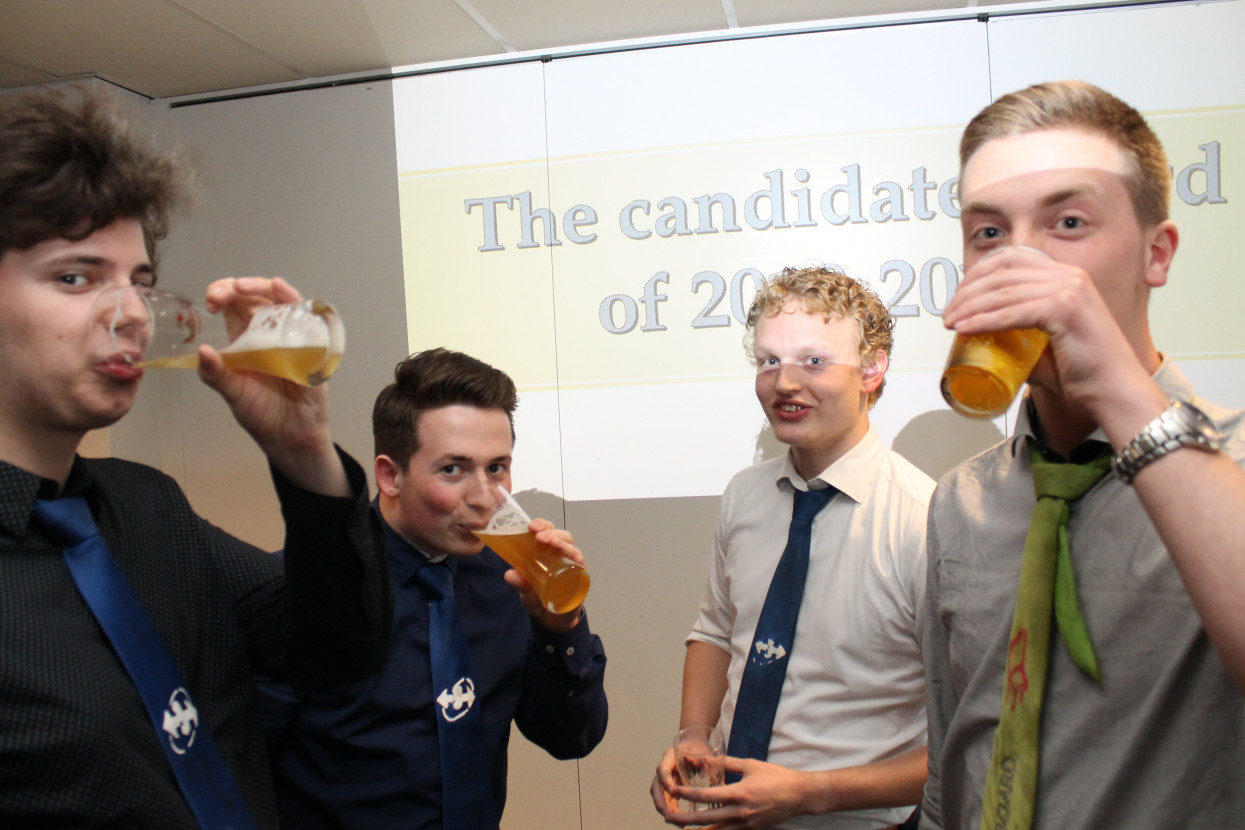 Candidate Board Announcement drink
