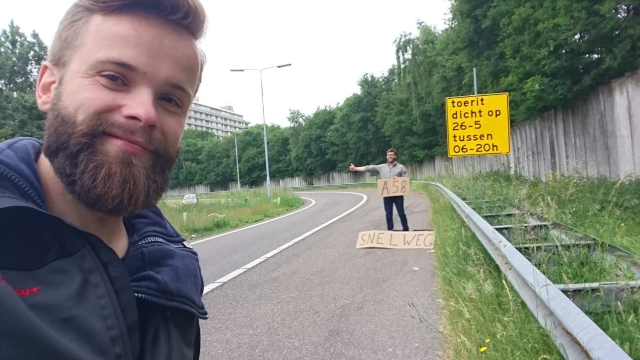 Hitch-Hiking Competition