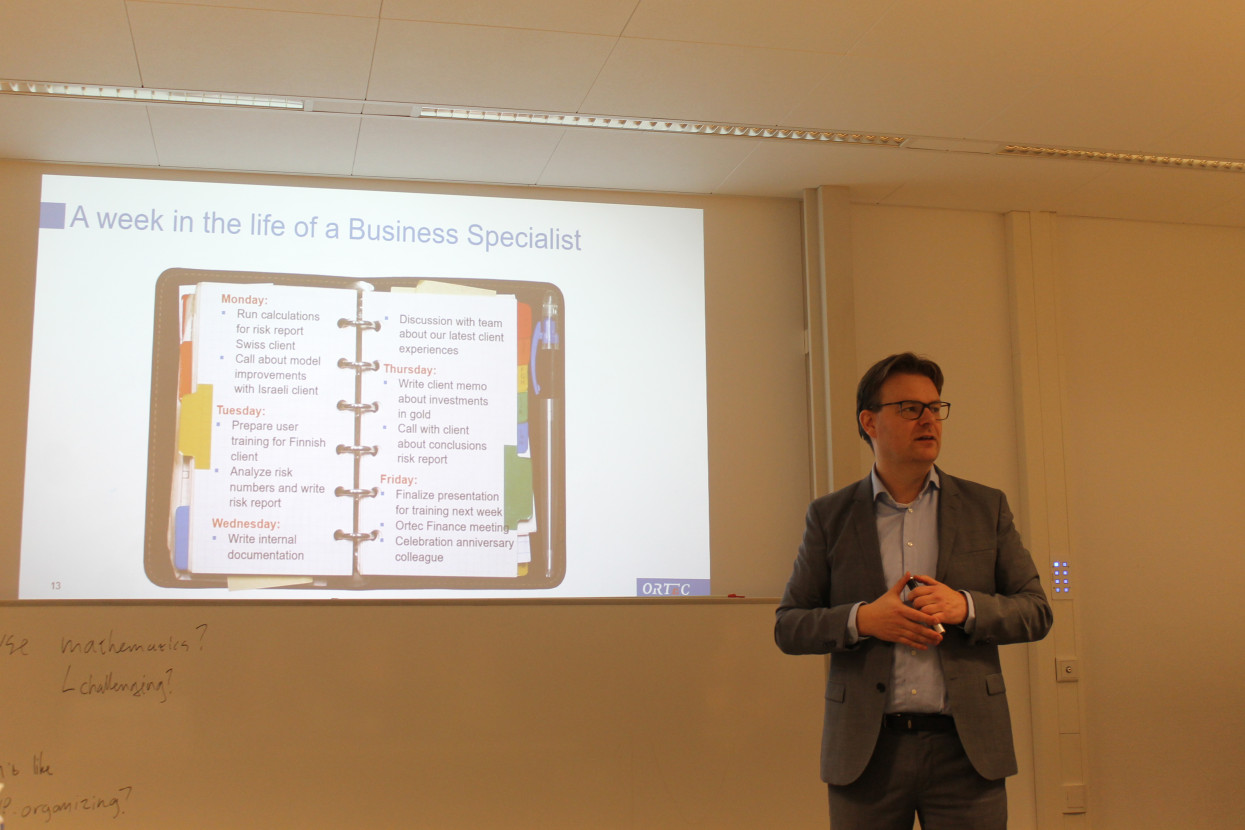 Lunchlezing Ortec Finance